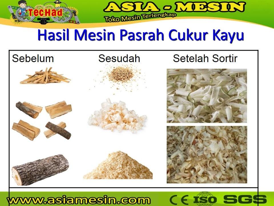 Mesin Serbuk Kayu, Wood Shaving Machine