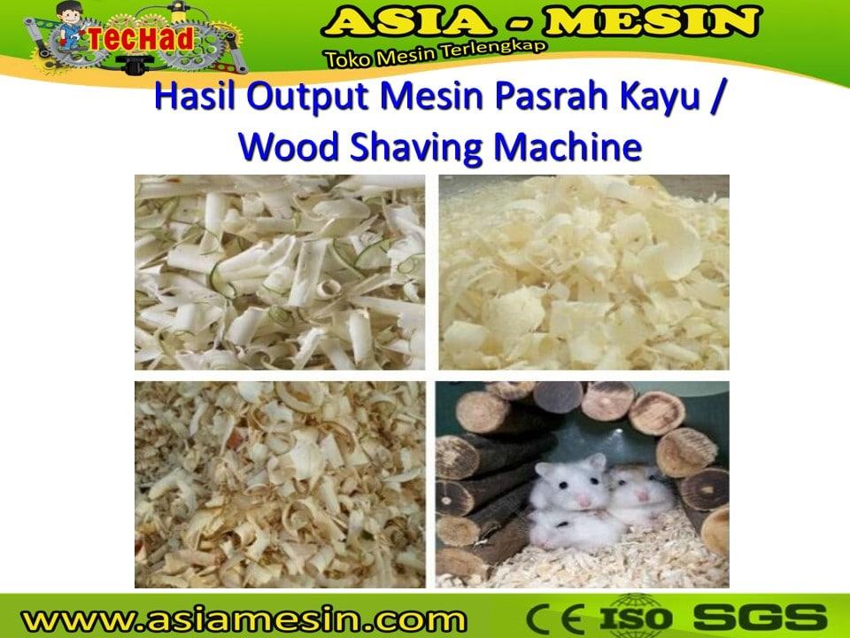 Jual Mesin Pembuat Serbuk Kayu, Wood Shaving Machine