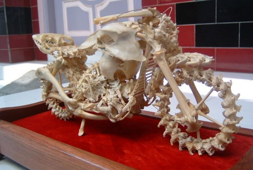 Mesin Penghancur Tulang