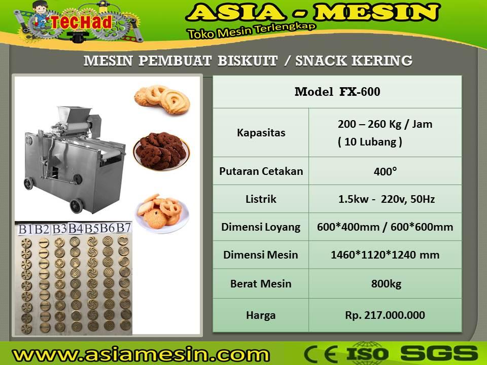 Mesin Pembuat Kue Kering FX-600