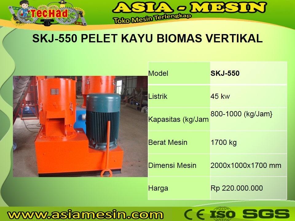 Jual Mesin Pelet Biomassa