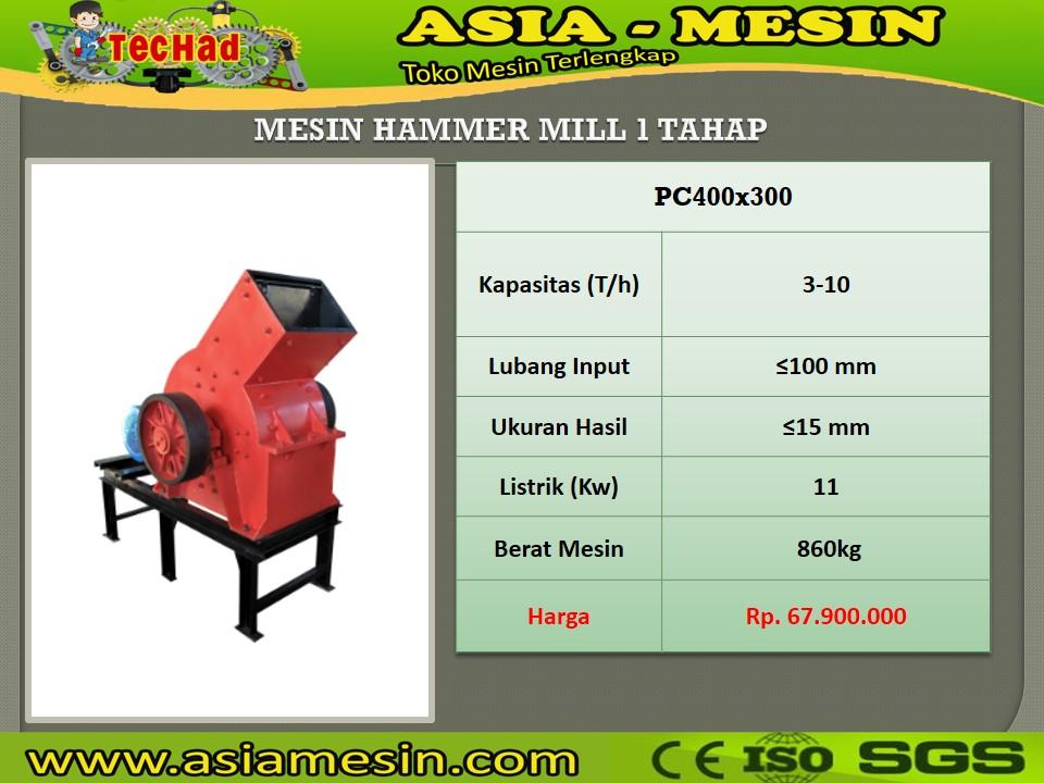 Mesin Hammermill Batu