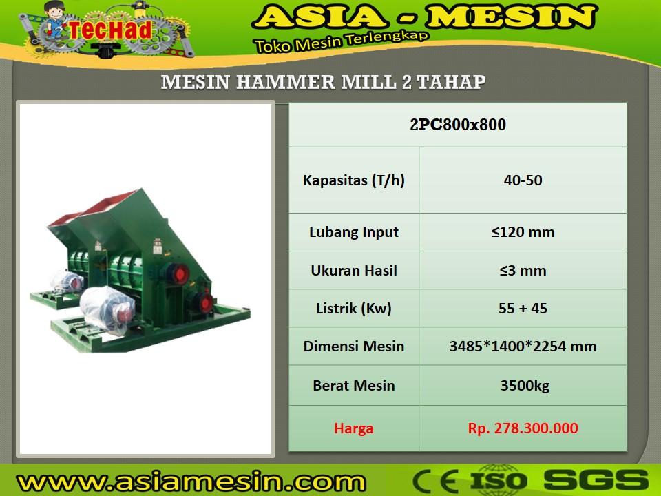 Jual Hammermill Batu
